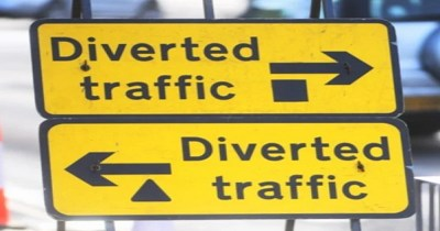 Route divert from tomorrow due to IMA parade