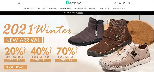 Pearlyo.com Review: Is Pearlyo an untrustworthy online retail shop?