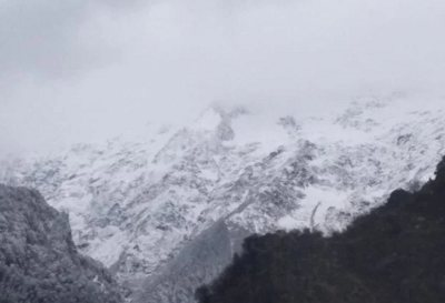 There is a possibility of heavy rain and snowfall in many areas of the state today.