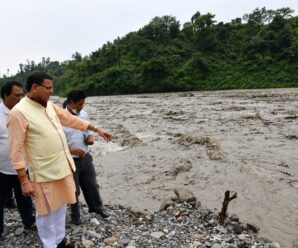 Pushkar Singh Dhami carried out on-site inspection of Sahastradhara-Maldevata road .