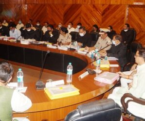 Officers should solve public problems with positive thinking: Chief Minister Pushkar Singh Dhami.